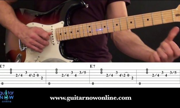Blues Guitar Workshop – Easy Blues Guitar Lesson