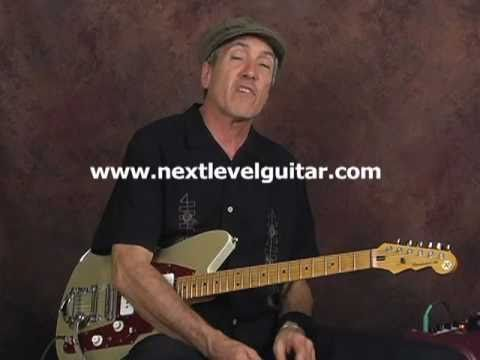 Electric Blues Lead Guitar lesson ala Albert Collins T-Bone Walker Peter Green BB King