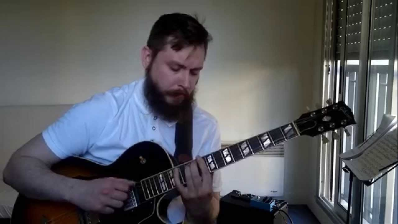 Moonglow – solo jazz guitar | My Blog