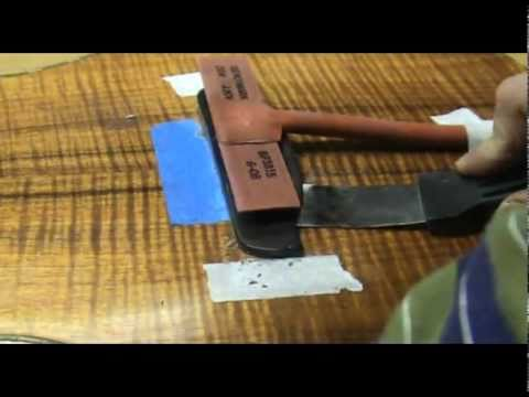 Luthier Tips du Jour – Bridge Removal