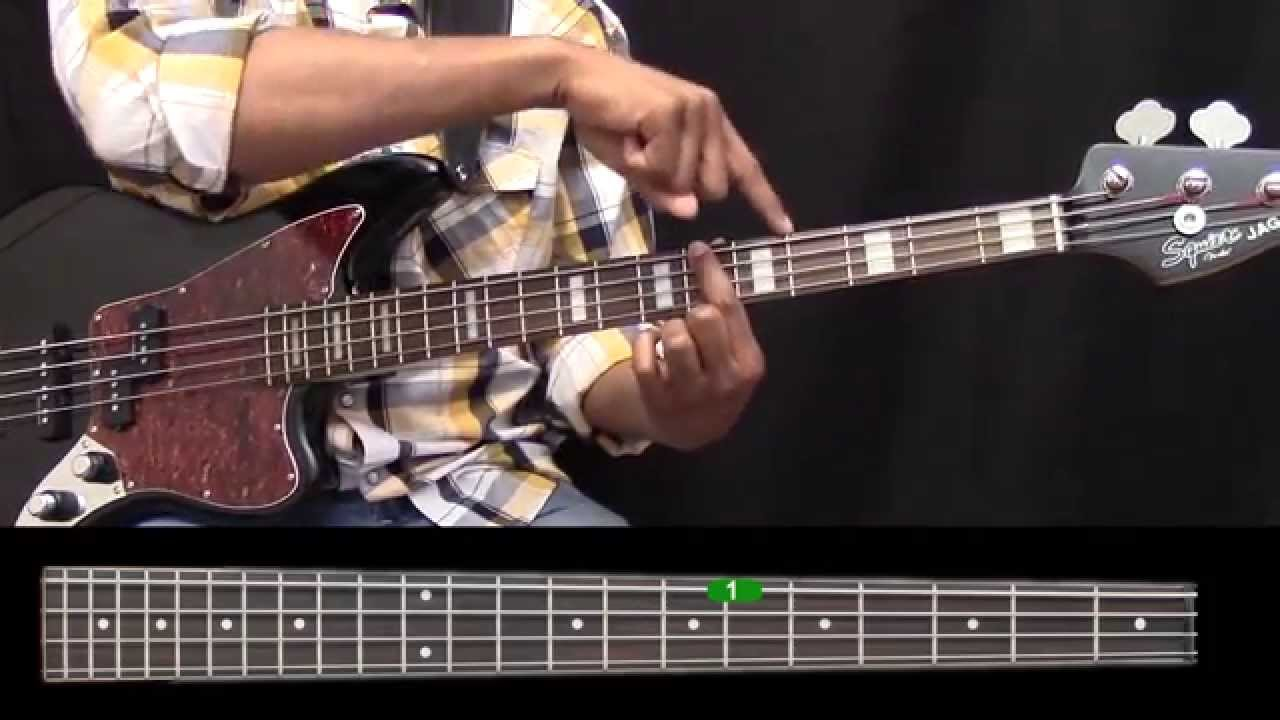 EASY BASS GUITAR (Lesson 3): The Major Scale Pattern
