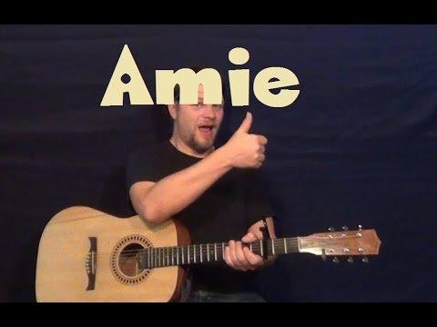 Amie (Pure Prairie League) Easy Guitar Lesson How to Play Tutorial