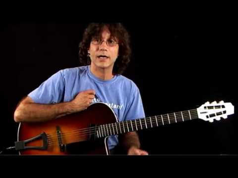Jazz Guitar Lessons – Inversion Excursion – C Major Chord Inversions 1