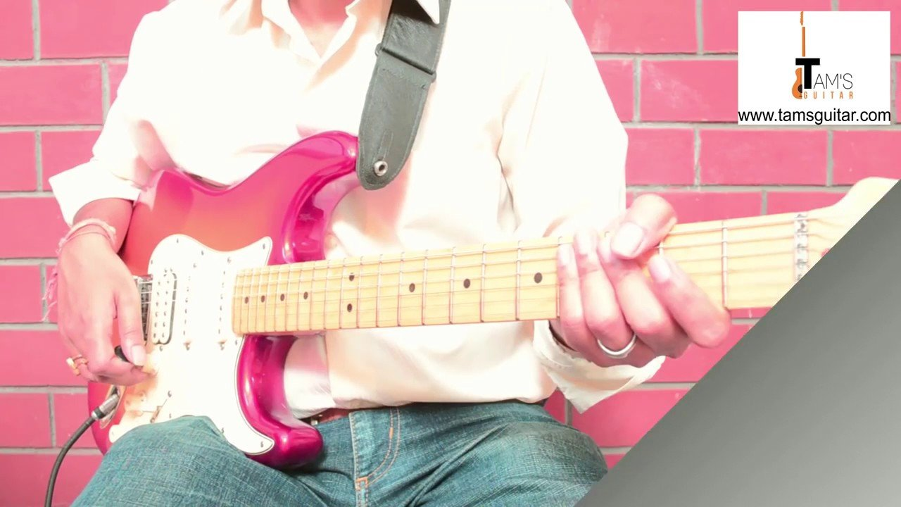 ROCK ON REVISITED guitar lesson | main Electric guitar Riff | Rock On 2 | www.tamsguitar.c