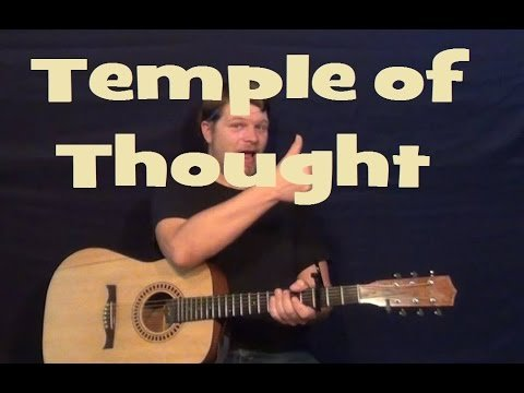 Temple of Thought – Poets of the Fall – Easy Strum Guitar Lesson Licks How to Play Tutorial