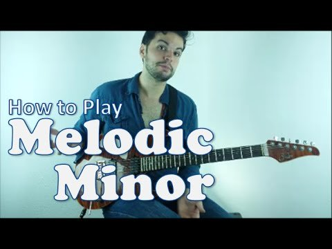 Melodic Minor Scale   How to Play Outside Jazz Rock Fusion #1