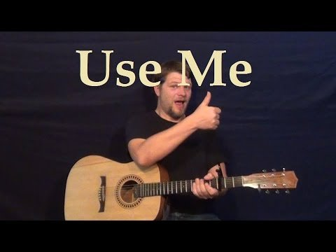 Use Me (Bill Withers) Easy Strum Guitar Lesson Chord Licks – How to Play Use Me Tutorial