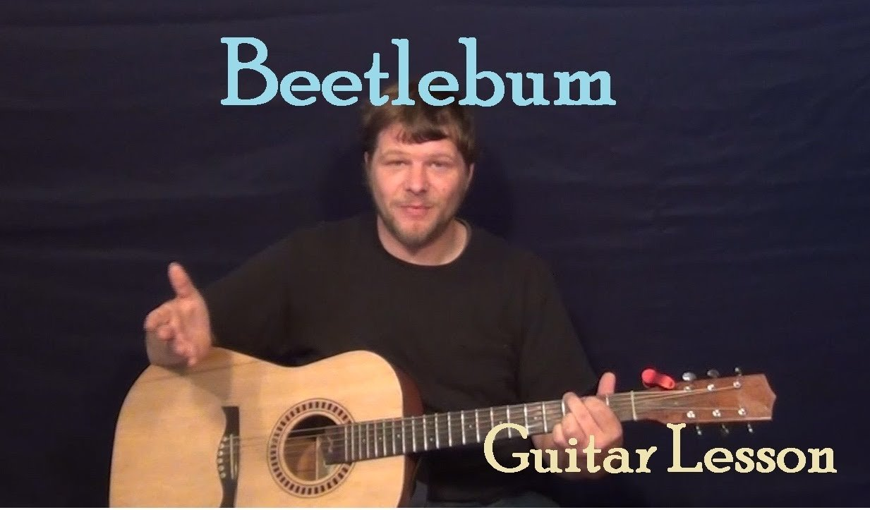 Beetlebum (Blur) Easy Guitar Lesson How to Play Tutorial