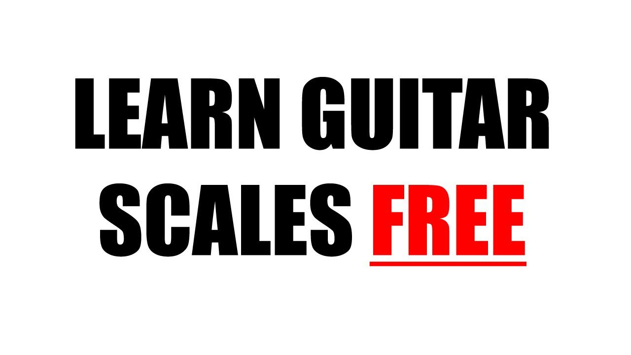 Learn Guitar Scales Free