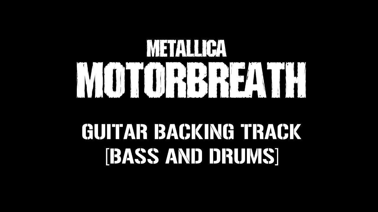 Metallica – Motorbreath [guitar backing track]