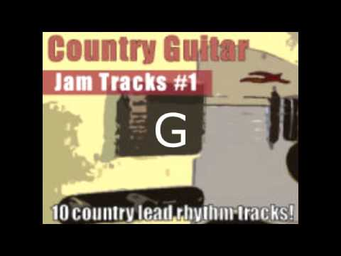 Country Guitar Jam Tracks #1 Ballad in G Backing Jam Track