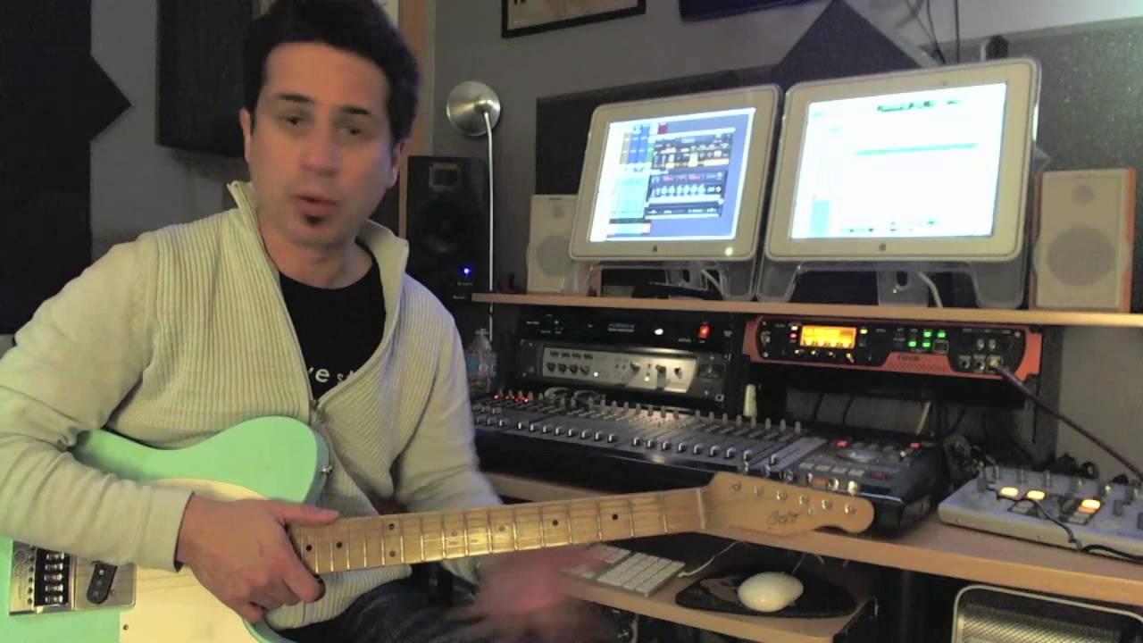 Blues Rhythms – #1 – Guitar Lesson – Corey Congilio