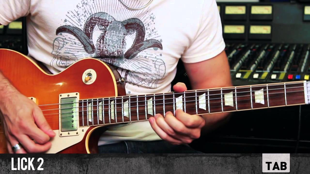 3 Hot Licks from Blues Deluxe (Joe Bonamassa) – Guitar Tutorial with Matt Bidoglia