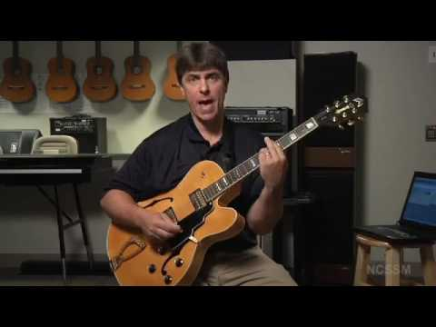 Jazz Guitar Lesson 1  Guitar Basics