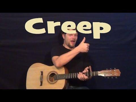 Creep (Radiohead) Easy Strum Guitar Lesson Chord How to Play