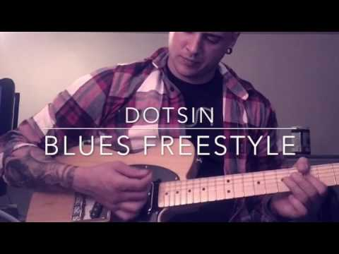 Incredible Guitar Solo over Blues Backing Track.
