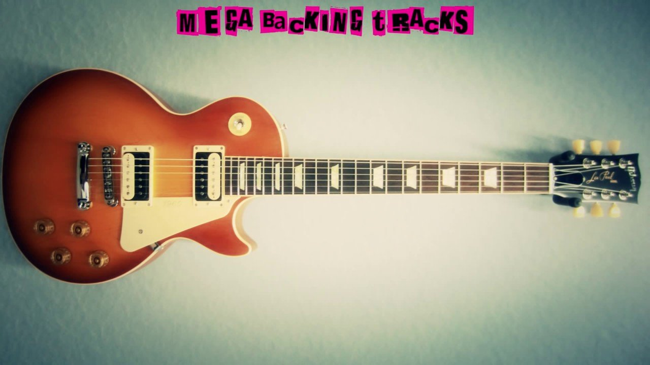 Backing tracks for guitar Blues-Metal-Rock-Jazz-Funk-Acoustic 2017