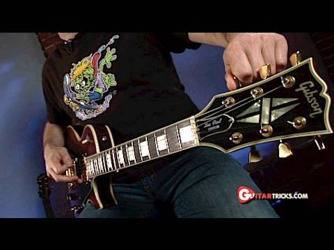 Drop D Tuning – Guitar Tuning Lesson-  Guitar Tricks 24