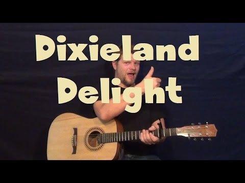 Dixieland Delight (Alabama) Easy Guitar Lesson Strum Chords How to Play Tutorial