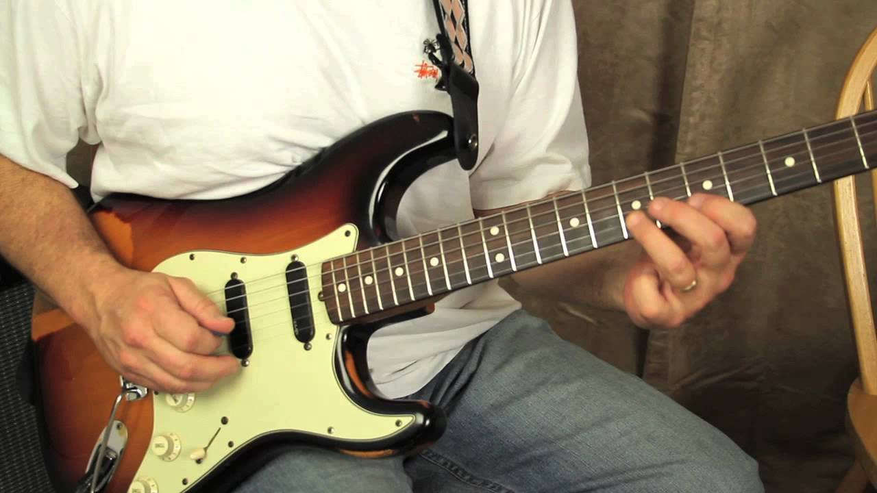 Blues Guitar Lessons – Blues Turnaround in the style of Eric Clapton
