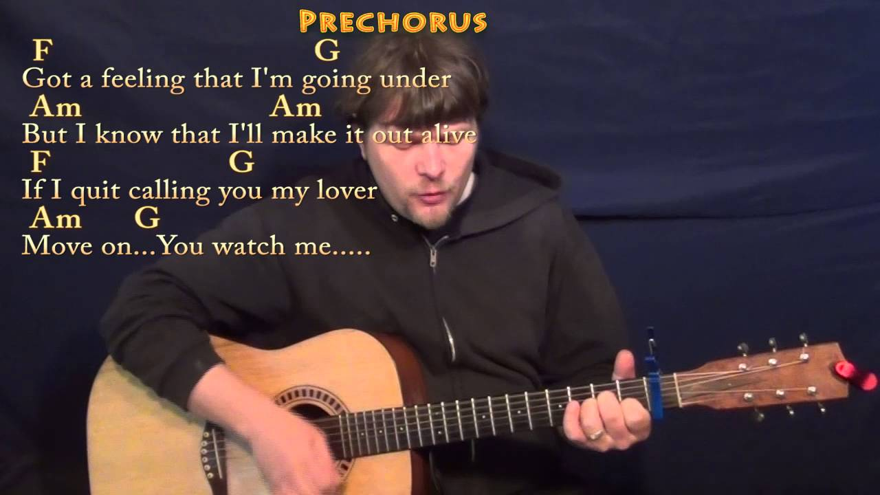 Stitches (Shawn Mendes) Strum Guitar Cover Lesson with Chords/Lyrics – Capo 1st