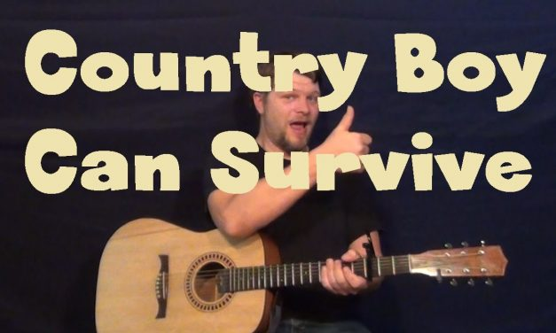 A Country Boy Can Survive (Hank Williams Jr.) Easy Strum Guitar Lesson – Chords How to Play Tutorial