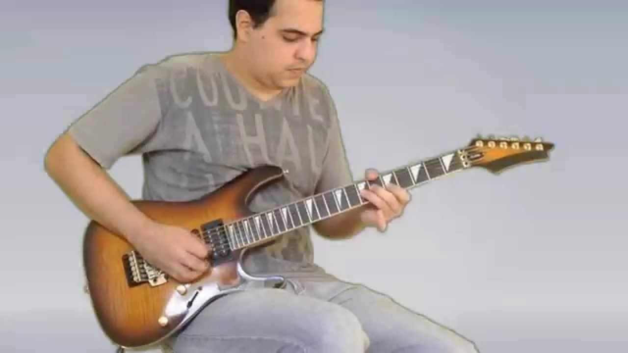 Felipe Coelho – Lick Penta Blues – Guitar Lesson / Aula Guitarra + TAB #1