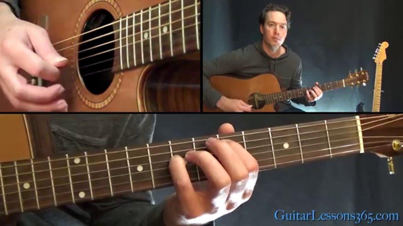 Pearl Jam – Daughter Guitar Lesson – Acoustic Chords