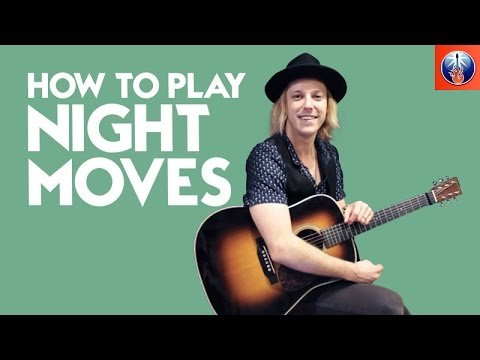 How to Play Night Moves on Acoustic Guitar – Bob Seger Guitar Lesson