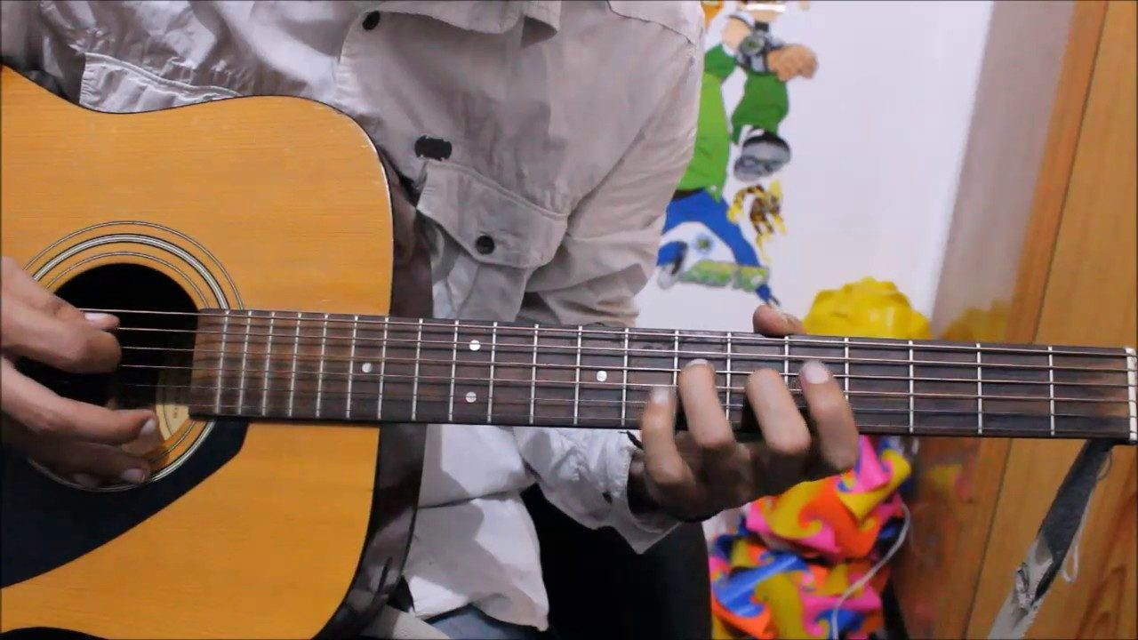 Neele Neele Ambar Par Chand Jab Aaye Tabs Leads Guitar Lesson