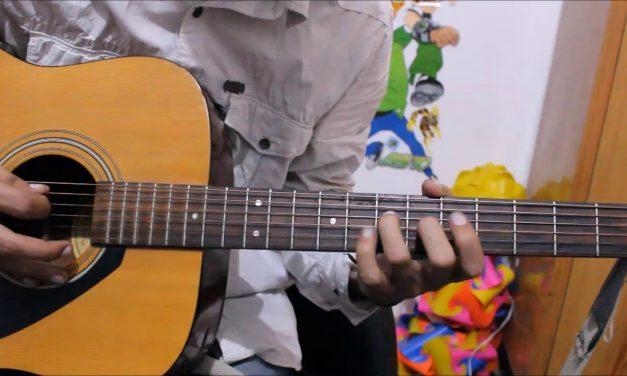 Neele Neele Ambar Par Chand Jab Aaye – TABS / LEADS guitar lesson hindi easy beginners