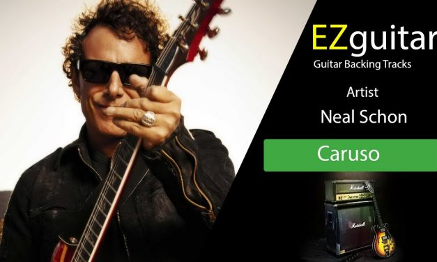 Neal Schon –  Guitar Backing Tracks – Caruso