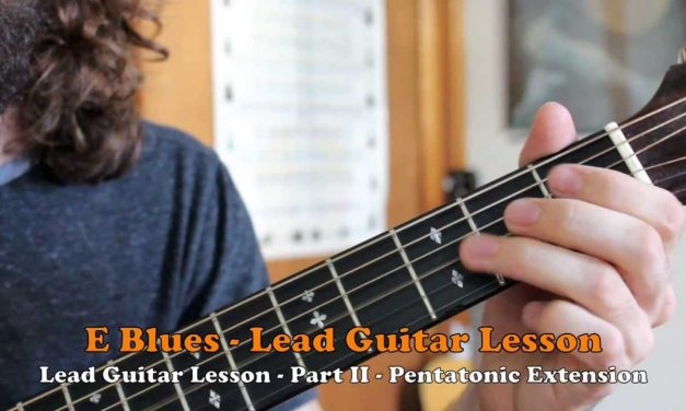Blues Rock Guitar Lesson – B.B King, Jimi Hendrix Inspired licks and positions.