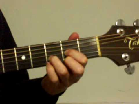 Beginner guitar lesson with 3 easy chords