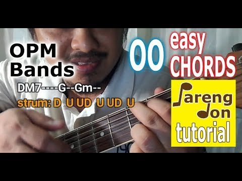 Up Dharma Down – OO easy Karaoke Chords and guitar tutorial – Pareng Don OPM Lessons