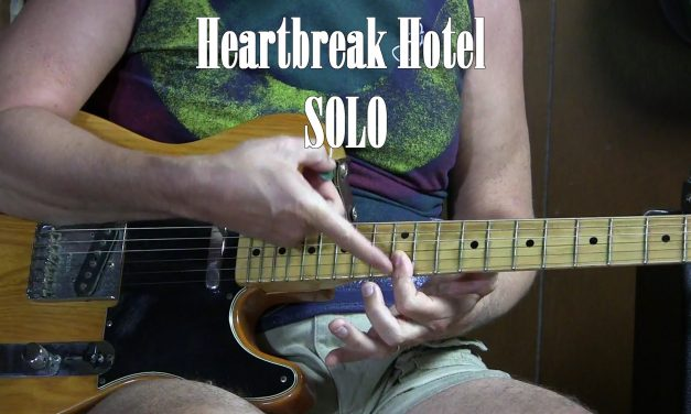 Heartbreak Hotel SOLO lesson – How to Play Electric Lead Guitar L30