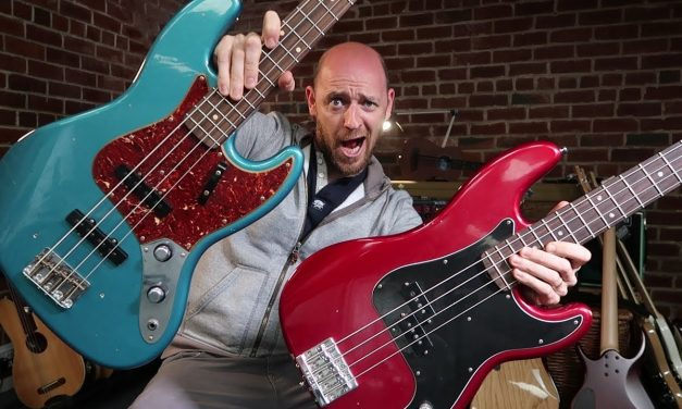 Jazz Bass Vs Precision Bass – can YOU tell the difference?!