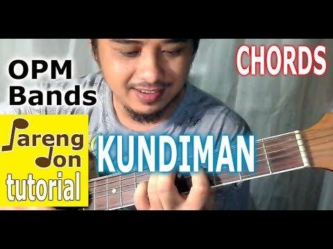 Kundiman chords Silent Sanctuary guitar tutorial