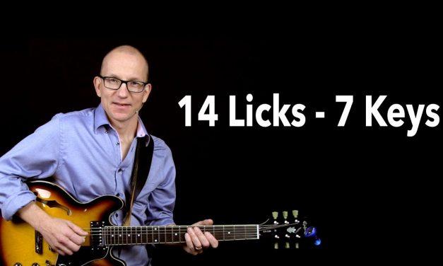 Blues Licks over A7
