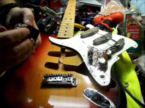 1974 Fender Strat repair