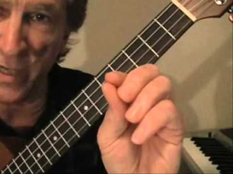 Blues Ukulele Jazz Chords Lesson 2.wmv