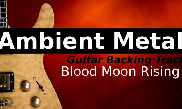 Ambient Metal Backing Track Jam in Dm