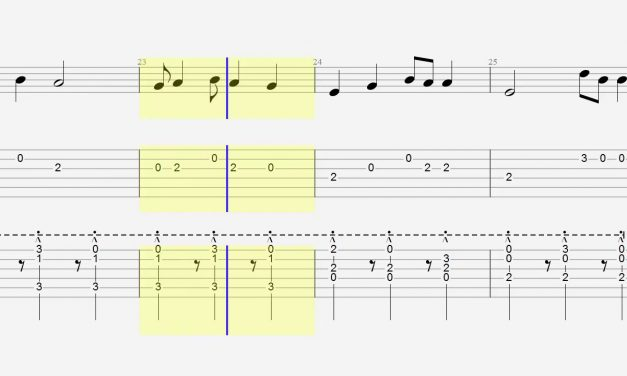 Guitar Tab – Chords – Shape of You – Acoustic Cover