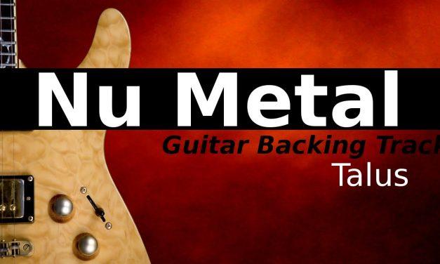 Nu Metal Backing Track Jam in Cm