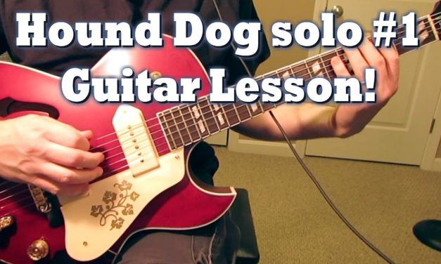 Hound Dog Solo #1 Guitar Lesson