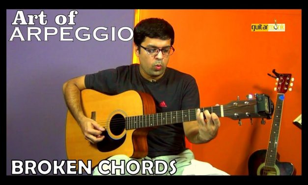 Guitar Secrets – Technique Arpeggio, Broken Chords | Free Tutorial, Lesson, Learn How To Play