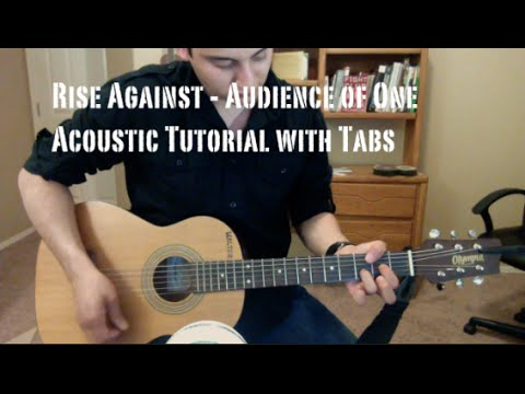 Rise Against – Audience of One (Guitar Lesson/Tutorial with Tabs)