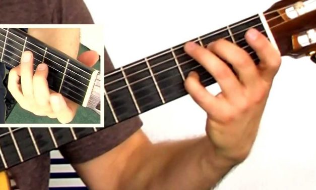 Spanish Guitar New Flamenco Guitar Chord Progression in Dm
