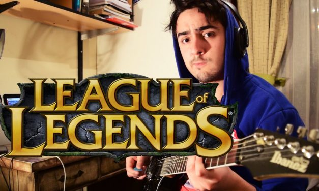 [TAB] Warriors – League of Legends 2014 World Championship [Guitar Cover] – Imagine Dragons