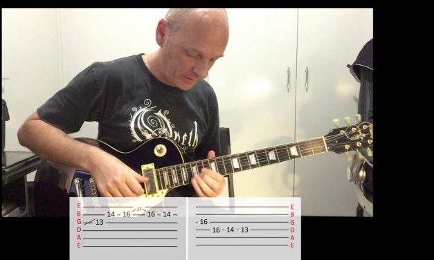 Opeth – For Absent Friends – Guitar Lesson – Eezerian